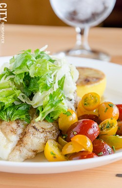 Tuscan Cod. - PHOTO BY MARK CHAMBERLIN