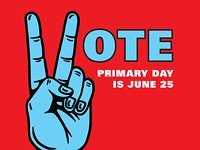 PRIMARY DAY IS JUNE 25