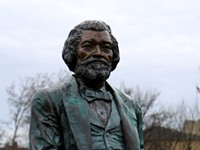 Frederick Douglass statue in Maplewood Park toppled