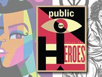 New art magazine Public Eye sees the heroes we need