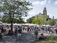 Clothesline Festival is on, with reservations