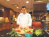 Young NYWCC executive chef drives locally focused program