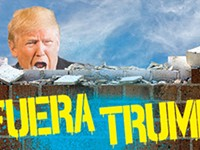 Trump unpopular south of the border
