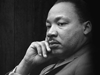 Martin Luther King and Donald Trump