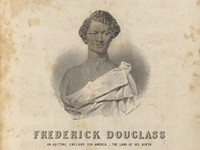 Rare sheet music inspired by Frederick Douglass obtained by UR