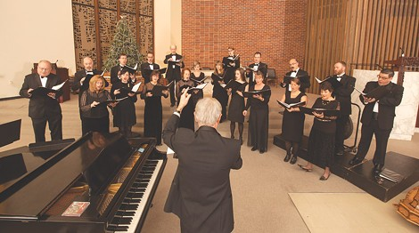 """Madrigalia, under the direction of Cary Ratcliff, will perform """"Ode to Common Things"""" on Saturday. - PHOTO BY SEAN KELLEY/REDSTONE STUDIOS"""