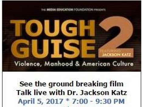 jackson katz tough guise Katz's award-winning educational videos tough guise and tough guise 2, his  featured appearances in the films wrestling with manhood and spin the bottle.