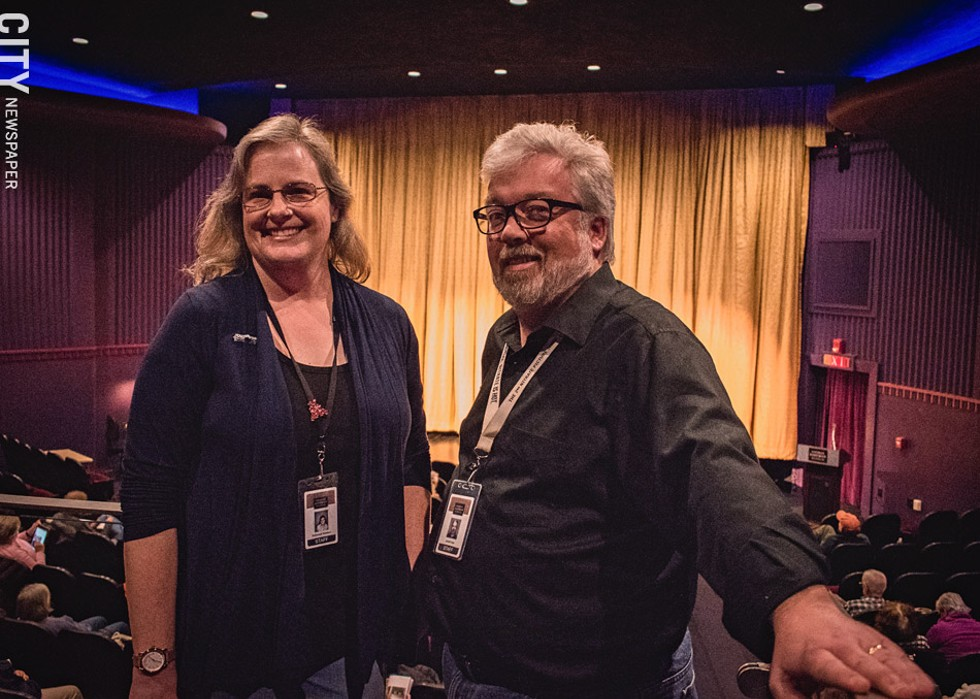Nitrate Picture Show co-directors Deborah Stoiber and Jared Case say the annual festival is a chance to nerd out with fellow film lovers, professional and otherwise. The 5th Nitrate Picture Show takes place at Eastman Museum's Dryden Theatre from Saturday, May 4, through Monday, May 6. - PHOTO BY RYAN WILLIAMSON