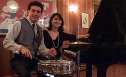 """The Laura Dubin Trio, including Antonio Guererro on drums and Dubin on piano, will perform """"West Side Story"""" on Friday, June 21, 6 p.m. and 10 p.m. at The Wilder Room, as part of the 2019 CGI RIJF. - PHOTO PROVIDED"""