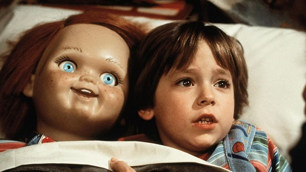 """Andy (Alex Vincent) and his """"friend till the end,' - Chucky in the original """"Child's Play."""" - PHOTO COURTESY MGM HOME ENTERTAINMENT"""