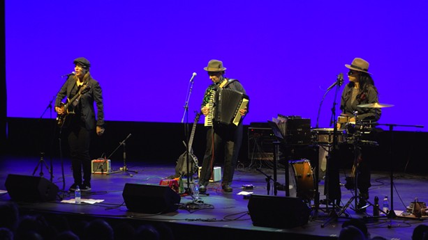 VickiKristinaBarcelona returned to Rochester with the music of Tom Waits on Tuesday, June 25 as part of  the 2019 CGI Rochester International Jazz Festival. - PHOTO BY MARTIN  KAUFMAN