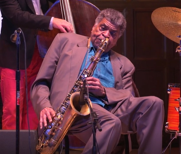 Jazz legend George Coleman performed at Kilbourn Hall on Thursday, June 27 as part of the 2019 CGI Rochester International Jazz Festival. - PHOTO BY KATIE EPNER