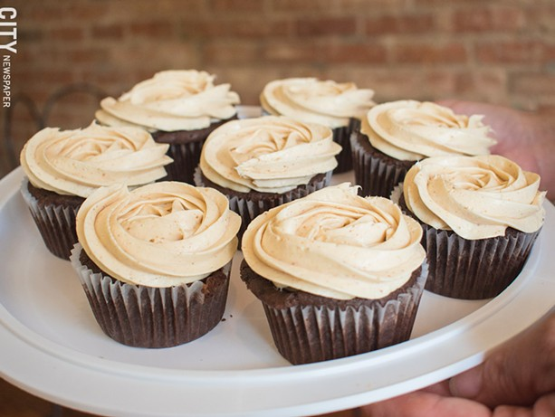 Tu Amor's keto cupcakes are as good as the regular ones. - PHOTO BY JACOB WALSH