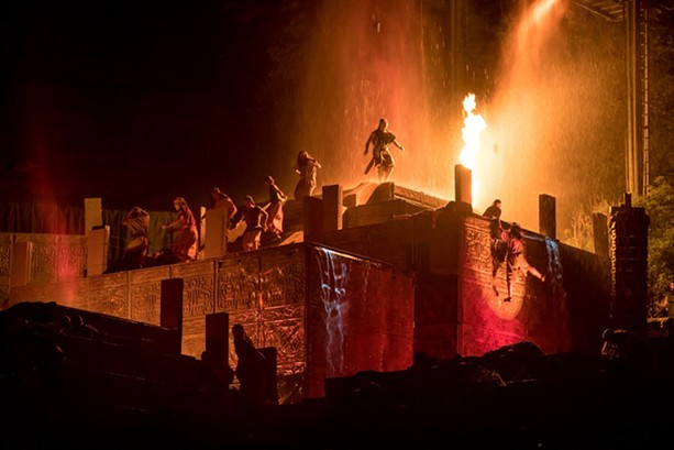 The narrative includes 10 scenes from both The Book of Mormon and the Bible, chronicling the story of the Nephites from thousands of years ago in Jerusalem to the discovery of the golden plates on Hill Cumorah. - PHOTO COURTESY MATT BARR, HILL CUMORAH PAGEANT