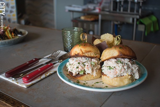 Shrimp rolls. - PHOTO BY JACOB WALSH