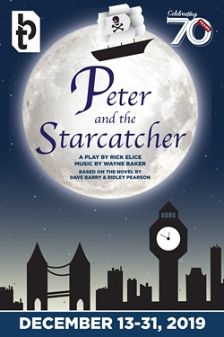 """Peter and The Starcatcher"" will be staged by Blackfriars Theatre December 13-19. - ILLUSTRATION BY KOLLEEN VOGEL"