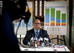 City school board President Van White. - PHOTO BY RYAN WILLIAMSON