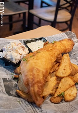 The fish fry and pub fries. - PHOTO BY JACOB WALSH