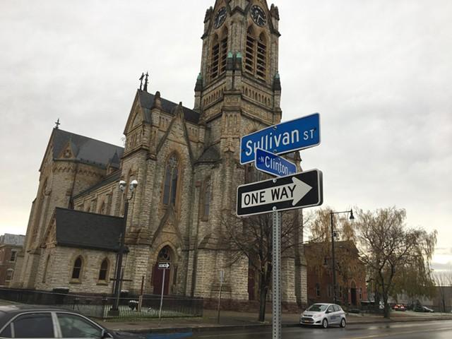 La Marketa will be located across from St. Michael's Church on North Clinton Avenue. - FILE PHOTO