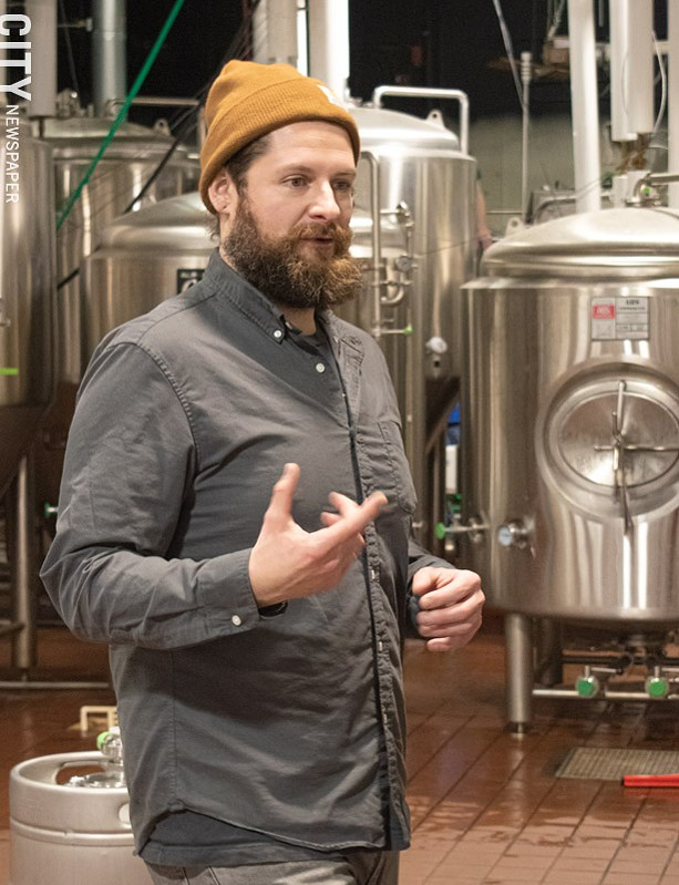 Jon Mervine has established Fifth Frame Brewing as one of the region's best destinations for hazy IPAs. He said survival as a smaller brewery hinges on keeping things fresh, interesting, and consistent. - PHOTO BY JACOB WALSH