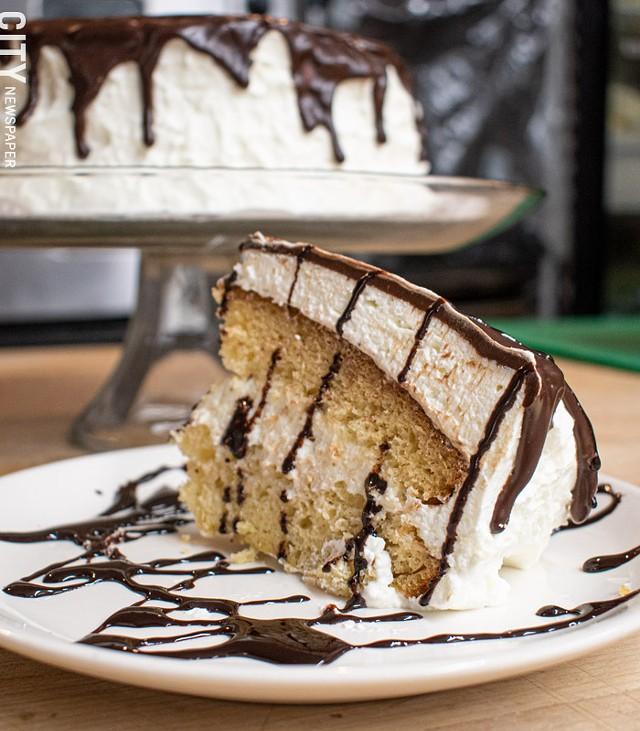 Cannoli cake. - PHOTO BY JACOB WALSH