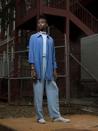 One of McFadden's subjects, Avery Jackson. - PHOTO BY JOSHUA MCFADDEN