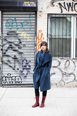 Author Valeria Luiselli will discuss migration stories and the American border crisis with UR history professor Ruben Flores on Thursday, February 27. - PHOTO BY DIEGO BERRUECOS