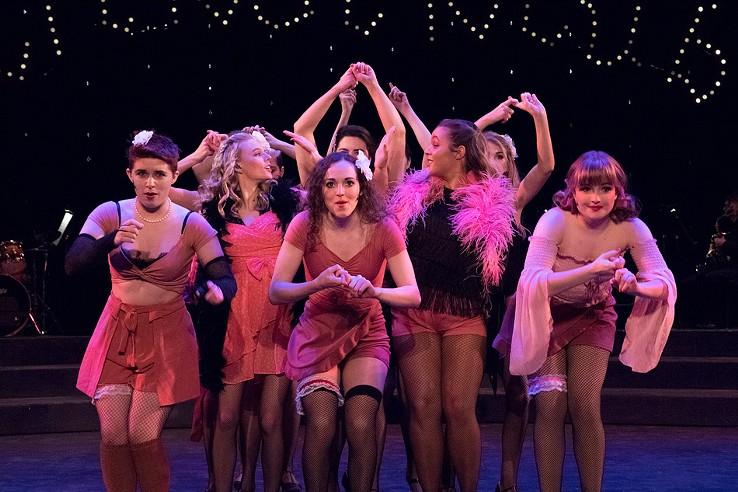 Cabaret at NTID. - PHOTO BY MARK BENJAMIN