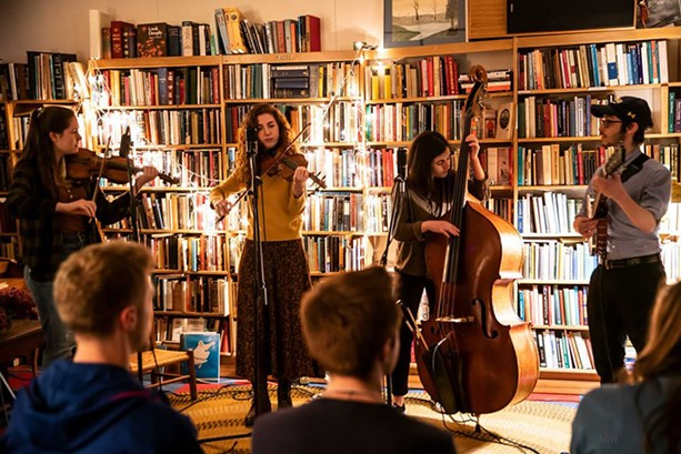 Copper Hill at Small World Books - PHOTO BY AARON WINTERS