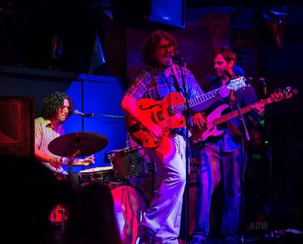 The Mighty High & Dry at Skylark Lounge - PHOTO BY AARON WINTERS