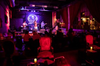 A live performance at Iron Smoke Distillery - PHOTO BY AARON WINTERS