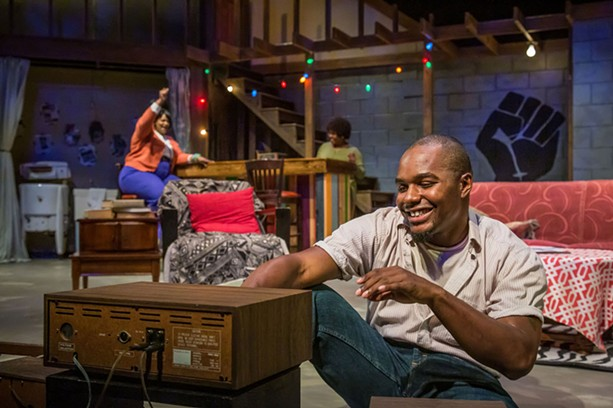 """A scene from Blackfriars Theatre's 2019 production of """"Detroit '67."""" - PHOTO BY ROY HEERKENS JR."""
