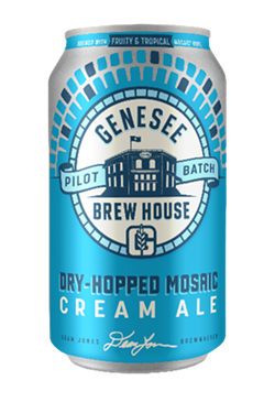 A can of Genesee's Mosaic Dry-Hopped Cream Ale. - PHOTO COURTESY OF GENESEE BREWERY