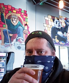 Three Heads Brewing's Geoff Dale - PHOTO PROVIDED