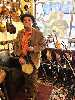 John Bernunzio with some of his wares. - PHOTO PROVIDED