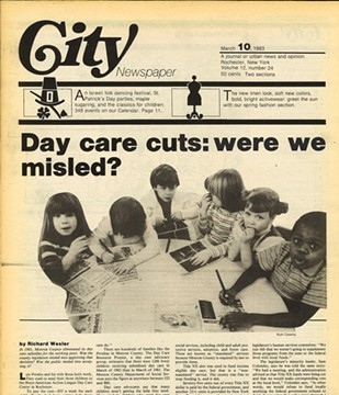 The cover of the March 10, 1983, edition of CITY. - FILE PHOTO
