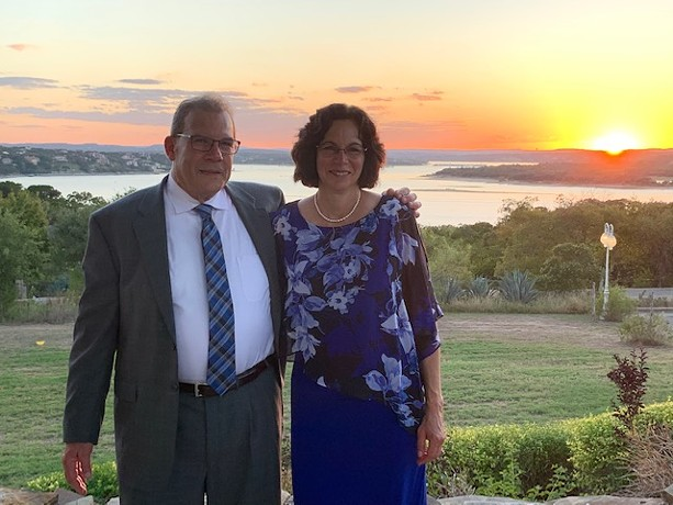 Jerry and Janet Elman in October 2019. - PHOTO PROVIDED