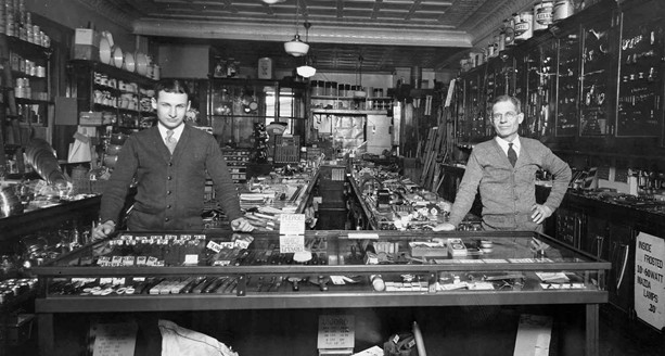 An undated photo of Wilson Hardware shows how it looked many years ago. - PHOTO PROVIDED