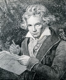 In the COVID-19 era, Beethoven's conversation books can provide relevant insight into how the composer connected with others despite isolation. - FILE PHOTO