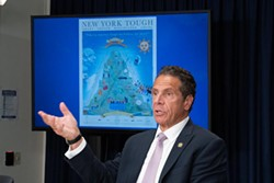 Governor Andrew Cuomo said schools will be able to reopen if the rate of COVID-19 infection in their regions stays below certain thresholds. - PHOTO PROVIDED BY GOVERNOR ANDREW CUOMO'S OFFICE