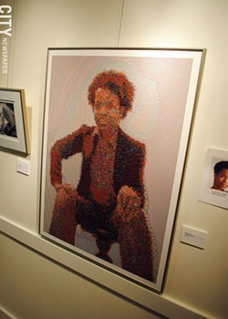 """Artwork by W. Michelle Harris, from the 2011 """"No Boundaries"""" art show held at The Baobab Cultural Center. - FILE PHOTO"""