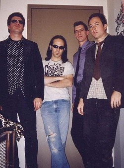 The Quitters (left to right): Dave Snyder, Rob Filardo, Dan Snyder, and Keith Parkins. - PHOTO PROVIDED BY ARTIST
