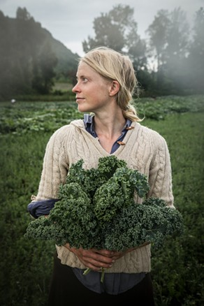 Petra Page-Mann of Fruition Seeds. - PHOTO PROVIDED