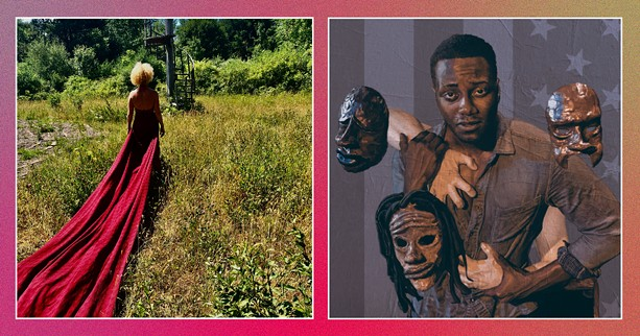 "BIODANCE (left); ""Black in the Box."" - PHOTOS PROVIDED BY KEYBANK ROCHESTER FRINGE FESTIVAL"