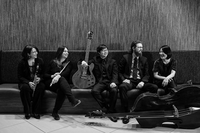 Rochester chamber music ensemble fivebyfive. - PHOTO BY JOHN SCHLIA