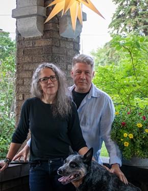 Sarah Long and her husband Jones Hendershot. - PHOTO PROVIDED