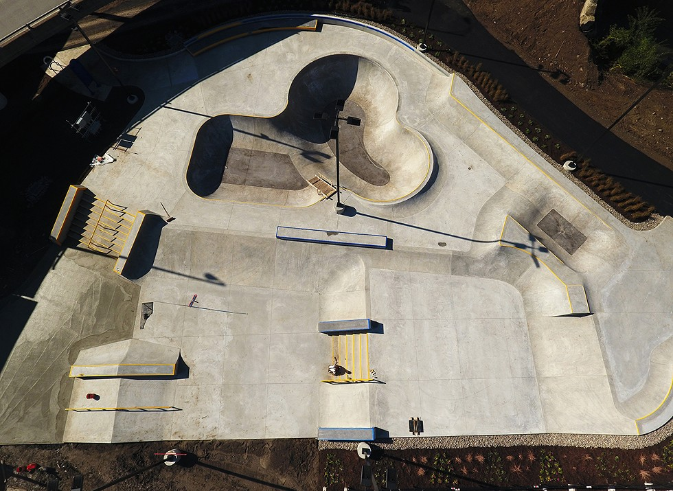 Rochester was the last of the 125 largest cities in the nation to build a public skatepark. - PHOTO BY MAX SCHULTE