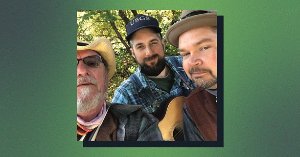 The Crawdiddies are (left to right) Dave Paprocki, Ben Haravitch, and Jay Chaffee. - PHOTO BY DAVE PAPROCKI