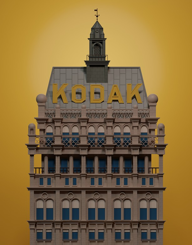 Self-taught artist Mathison Rust creates digital illustrations of iconic Rochester buildings and businesses. - ALL PHOTOS PROVIDED