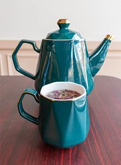 Rose tea. - PHOTO BY JACOB WALSH